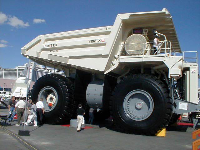 3 5 Ton Ac Unit >> Terex Trucks